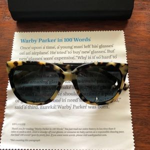 Warby Parker Reilly Tortoise Sunglasses